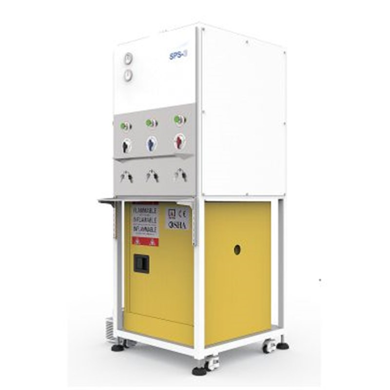 Solvent Purification System - Model 3X800